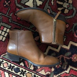 J.Crew ankle boots with side zip